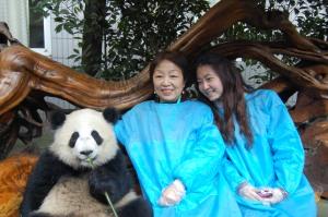 Mom and Jiani