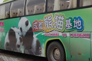 Adorable Chengdu Bus