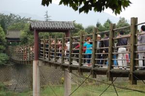 Dujiangyan Suspension Bridge