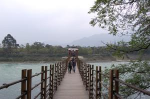 Suspension Bridge at Dujiangyan