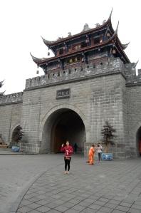 Dujiangyan city gate