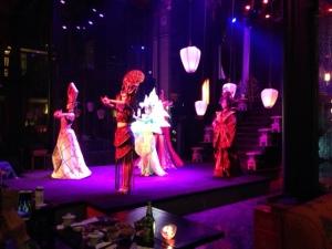 Performance at tea house