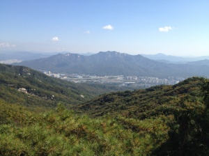 View from top of Dobongsan