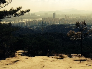 View of downtown Seoul