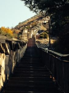 Climb along Seoul Fortress