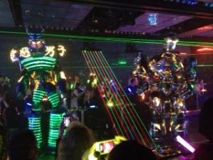 Robot Laser Show