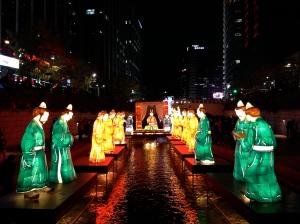Lanterns of ancient court