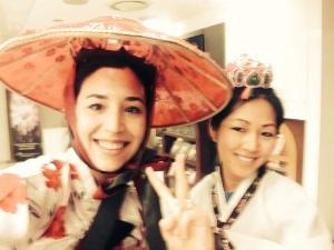 Hanbok selfie