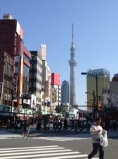 Tokyo Skytree - tallest in Tokyo