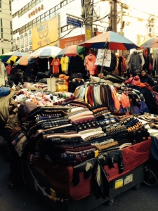 Namdaemun Market- Outdoor stalls