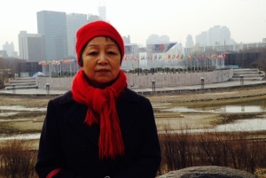 Mom at Olympic Park