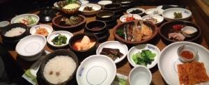Banchan dinner