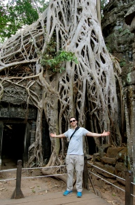 Alex at Ta Prohm