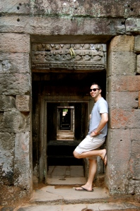 Alex looking cool at Preah Khan