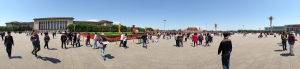 In front of Forbidden City