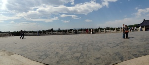 Beautiful clouds at Temple of Heaven