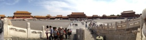 Beautiful day in Forbidden City