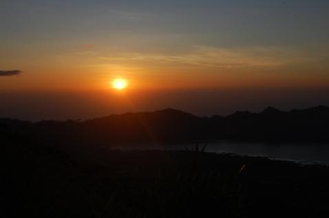 Sunrise on Mt. Batur