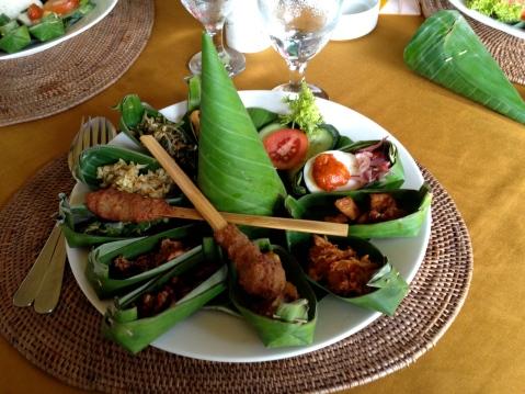 Balinese food sampler