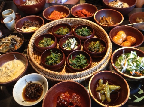 Third Course- that's a lot of banchan!