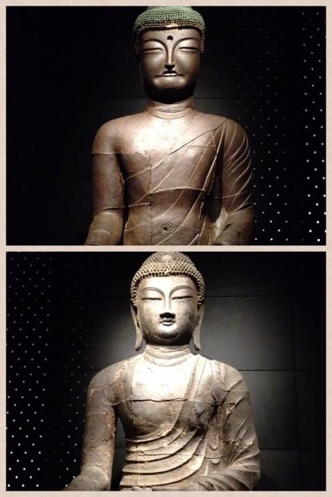 """""""Korean"""" Buddha vs. Traditional Buddha"""