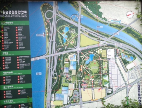 Map of Seoul Forest