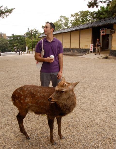 Alex and Deer... don't they resemble each other?!