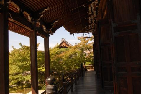 Eikando wooden corridor