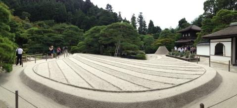 Ginkaku: sand garden