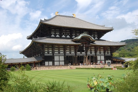 Todaiji Temple- largest wooden structure