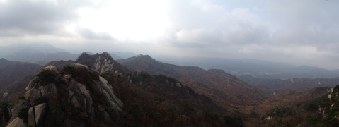 Pano from the peak