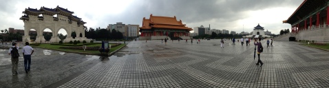 In Chiang Kai Shek Memorial Hall