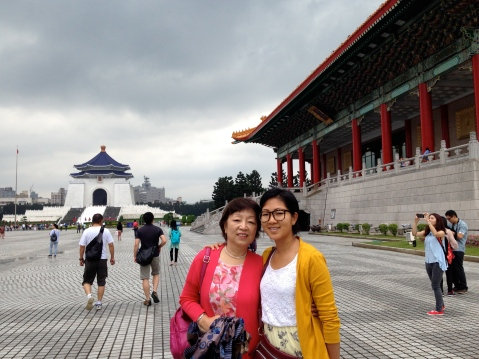 At Chiang Kai Shek Memorial Hall
