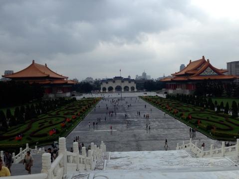 Chiang Kai Shek Memorial grounds