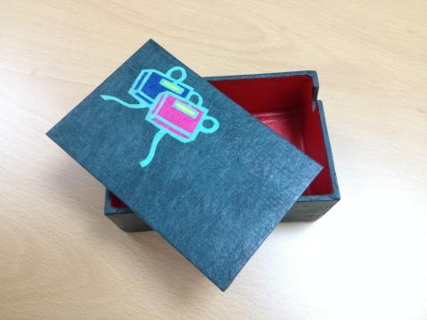 Hanji business card holder