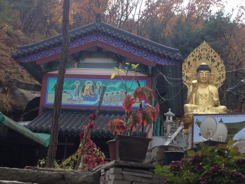 Another temple with golden Buddha