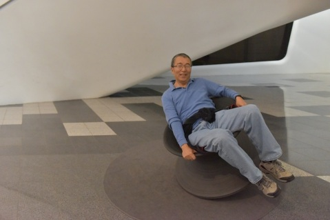 Day 3: Dongdaemun Design Plaza's fun chairs