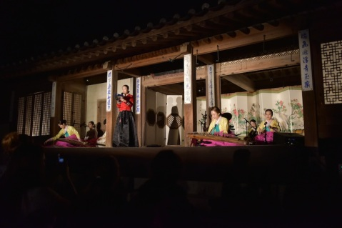 Day 3: Changdeokgung Palace 창덕궁 Moonlight Tour. Traditional Korean performance.