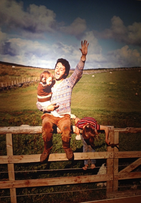 Linda McCartney's photo of Paul McCartney