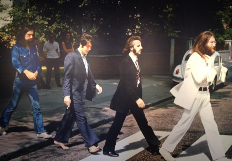 Linda McCartney's photo of the Beatles