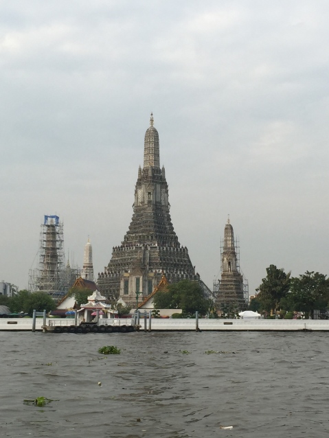 View of Wat Arun from ferry