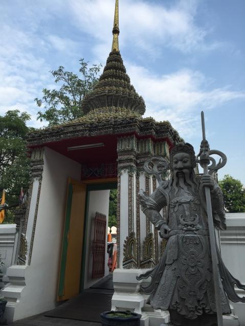 Side entrance of Wat Pho