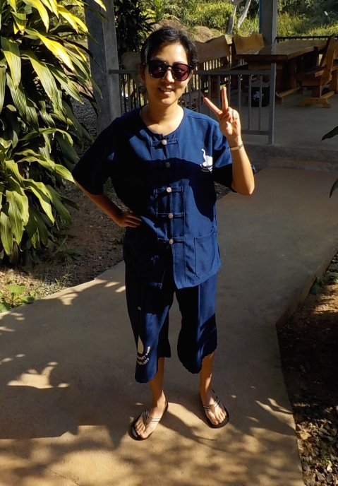 Me in my mahout clothes