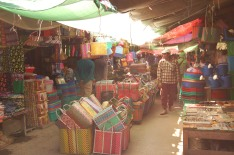 I bought a basket from the Nyaung Shwe Market