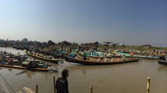 Tourist boats at NamPan Market