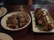 Wontons & fried duck dumplings