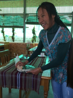 Making thanakha paste
