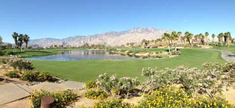Palm Springs course where Alex played golf