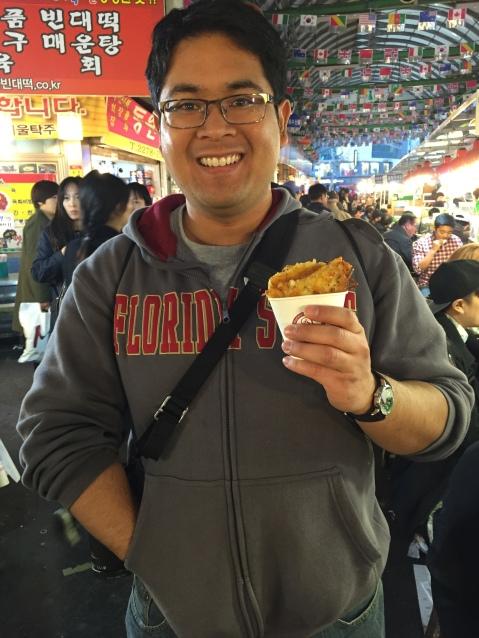 At Gwangjang Market