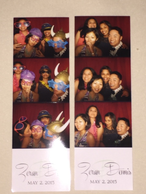From the photo booth